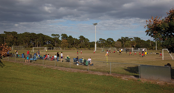 Sports Field at a Local School