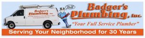 Website of Badger's Plumbing Service, Inc.