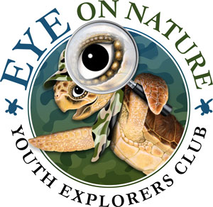 EYE on nature - youth explorers club logo