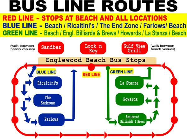 Englewood Beach 9 Putt Putt Bus Routes