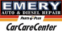 Emery Auto Diesel Repair Parts Plus CarCareCenter logo