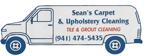 Website of Sean's Carpet & Upholstery Cleaning