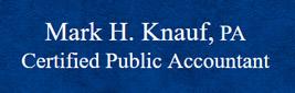 Mark Knauf CPA logo