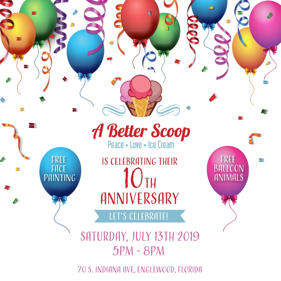 A Better Scoop\'s 10th Anniversary Party