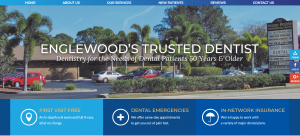 Website of Tarpon Shores Dental