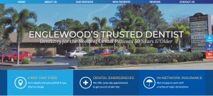Website of Tarpon Shores Dental