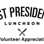 Past Presidents & Volunteer Appreciation Luncheon logo