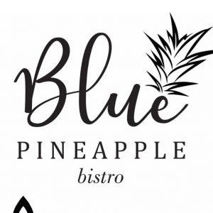 Website of Blue Pineapple Bistro