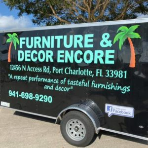 Website of Furniture & Decor Encore