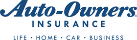 Auto-Owners Insurance logo: Life Home Car Business