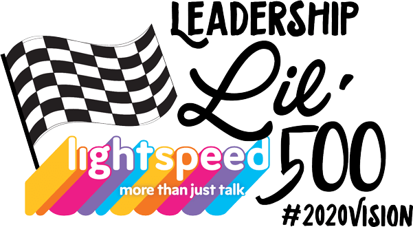 Leadership Lightspeed Voice Lil' 500-TBD, Golf Cart Raffle-Sept. 19th