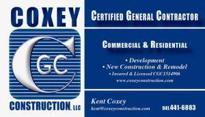 Website of Coxey Construction