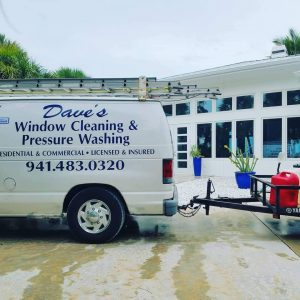 Website of Dave's Window Cleaning and Power Washing