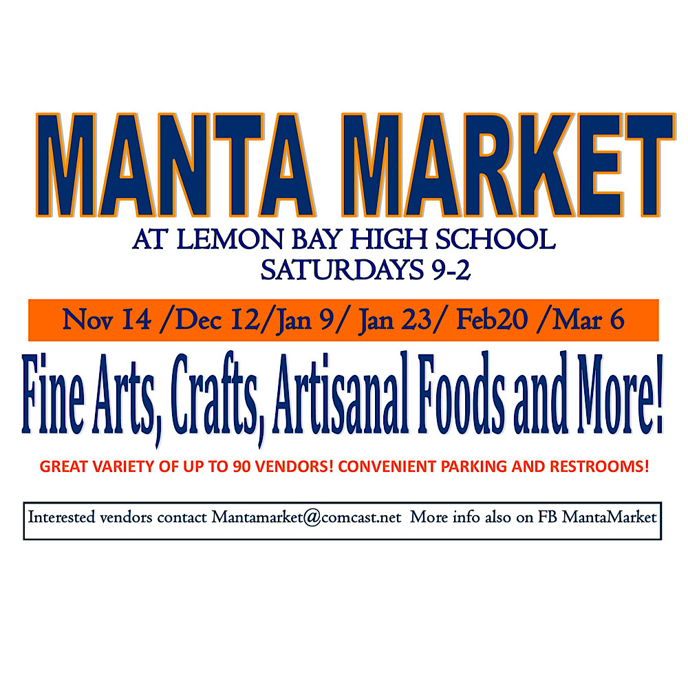 Manta Market Fine Arts, Crafts, Artisanal Foods and More!