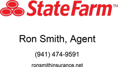 StateFarm Ron Smith Agent 941-474-9591 ronsmithinsurance.net