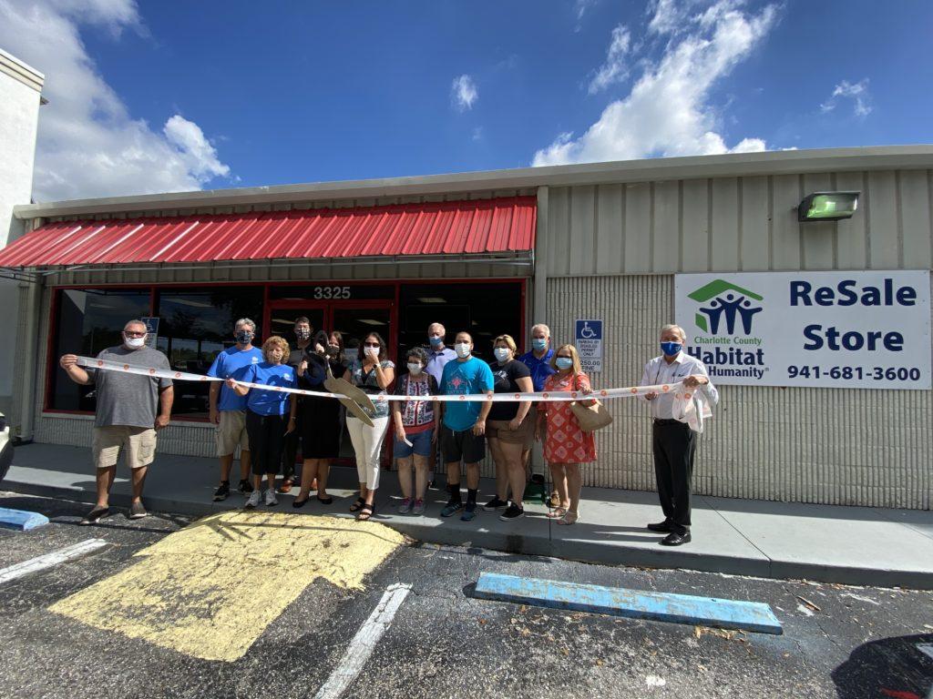 Charlotte County Habitat for Humanity ribbon cutting