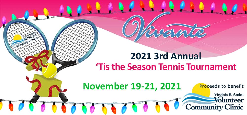 2021 'Tis the Season Vivante Tennis Tournament