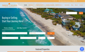 Website of Paradise Exclusive Real Estate - Boca Grande Office