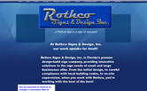 Website of Rothco Signs & Designs, Inc.
