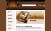 Website of Tobacco Locker Cigar Bar