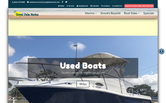 Website of Royal Palm Marina Boat Sales