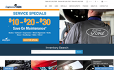 Website of Englewood Ford