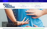 Website of Florida West Coast Physical Therapy