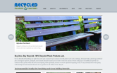 Website of Recycled Plastic Factory, LLC