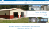 Website of R.J. LaBadie Construction / Doors-N-More