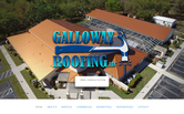 Website of Galloway Roofing LLC