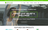 Website of Sweet Leaf Relief & Wellness