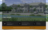 Website of Lemon Bay Apartments
