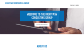 Website of The Right Way Consulting Group, LLC