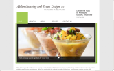 Website of Milan Catering and Event Design, LLC