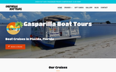 Website of Gasparilla Boat Tours