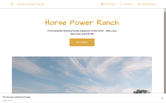 Website of Horse Power Ranch