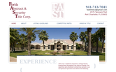 Website of Florida Abstract and Security Title Corp