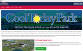 Website of The Atlanta Braves Baseball