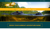 Website of Peace River Airboat Tours