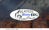 Website of Blacken Blues BBQ w/A Bakers Mission