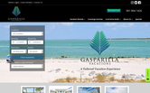 Website of Gasparilla Vacations