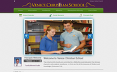 Website of Venice Christian School