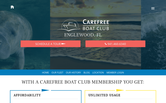 Website of Carefree Boat Club of Englewood
