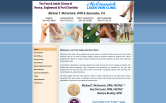 Website of Englewood Foot, Ankle & Vein Clinic