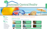 Website of Suncoast Central Realty