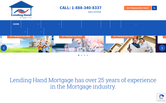 Website of Lending Hand Mortgage Corp