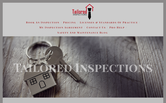 Website of Tailored Inspections