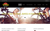 Website of Real Bikes Englewood