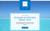 Website of Coastal Water Care