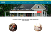 Website of WIN Home Inspection Venice